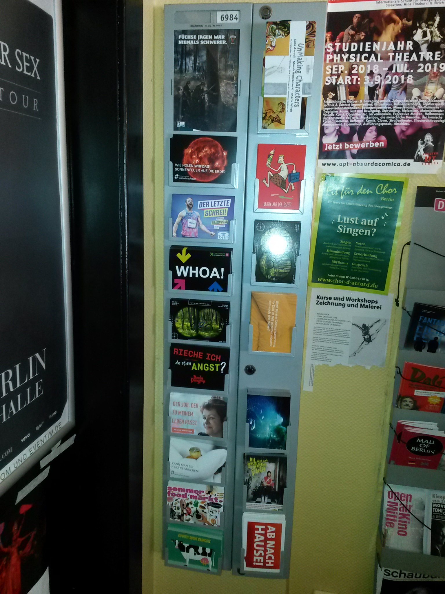 Plakatierung Berlin A3 Locations   DINAMIX Media
